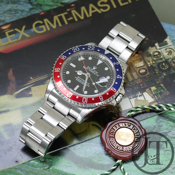 Rolex GMT Master II 16710 Pepsi Oyster - image 2