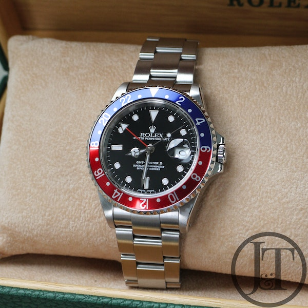 Rolex GMT Master II 16710 Pepsi Oyster - image 3