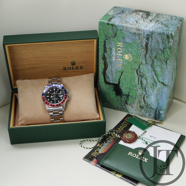 Rolex GMT Master II 16710 Pepsi Oyster - image 6