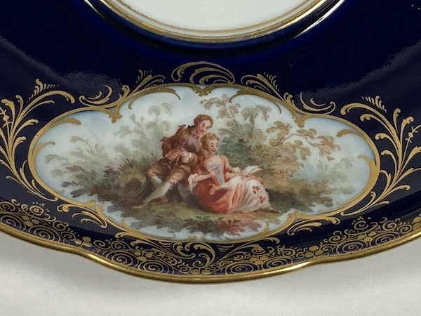 Meissen inkwell,cover and stand - image 9