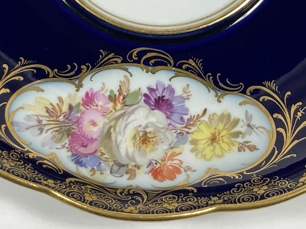 Meissen inkwell,cover and stand - image 10