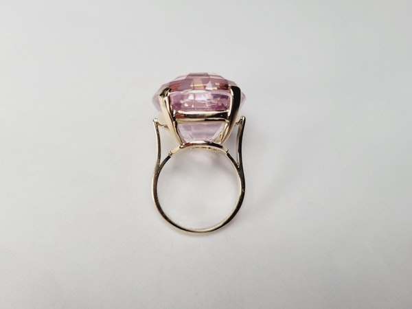Pink Kunzite dress ring sku 50  DBGEMS - image 4