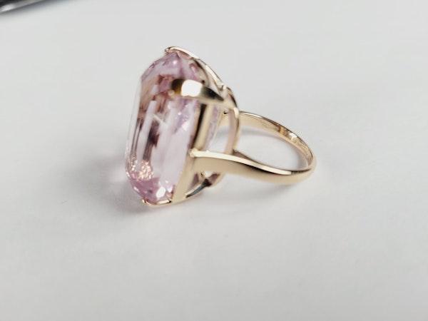 Pink Kunzite dress ring sku 50  DBGEMS - image 3