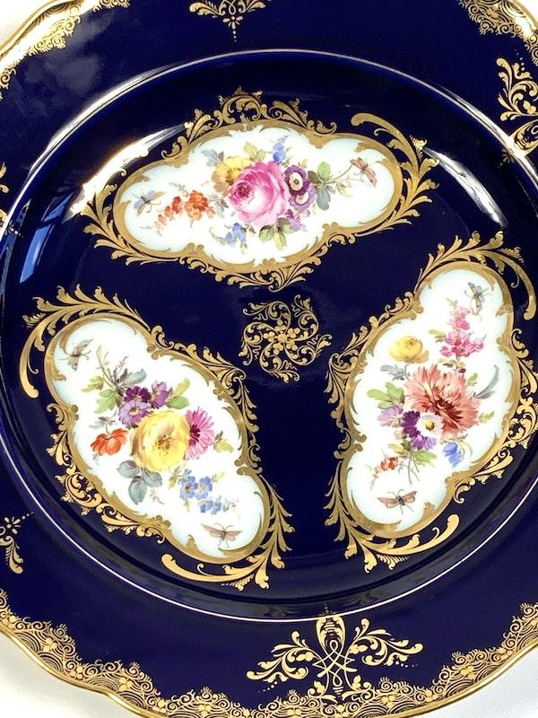 Pair of Meissen plates - image 4