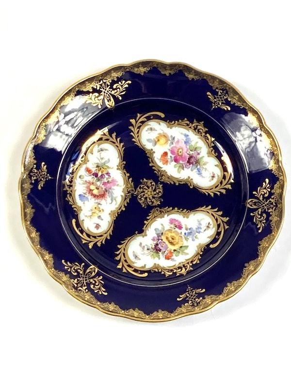 Pair of Meissen plates - image 2