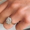 An Antique Diamond Cluster Ring - image 4