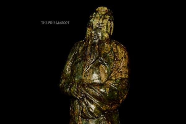 Large antique emperor jade statue - image 5
