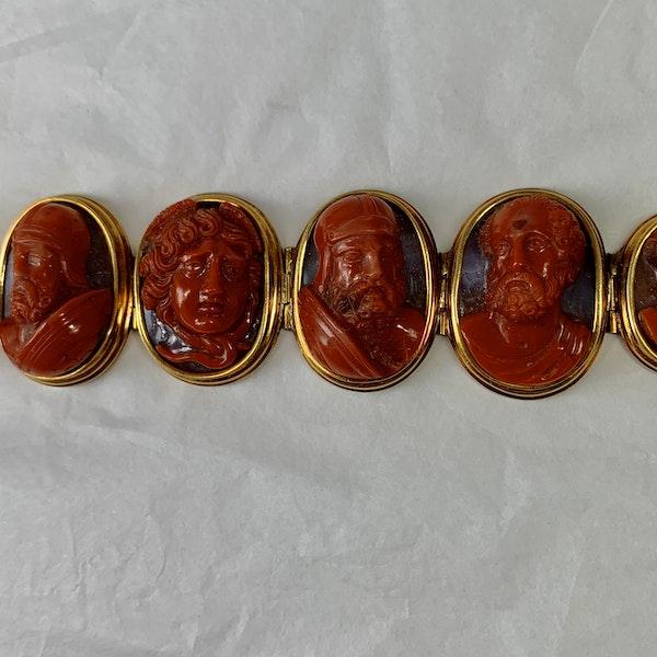 Jasper cameo bracelet - image 3