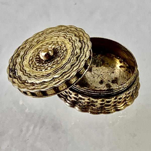 Silver gilt pomander - image 2