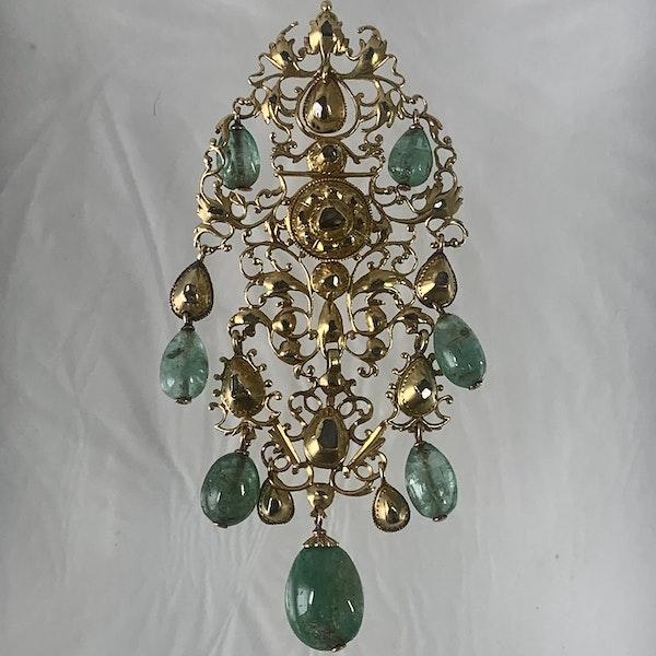 Seventeenth century Portuguese pendant - image 2