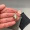 Diamond Emerald 9ct Gold Pendant date circa 1980, Lilly's Attic since 2001 - image 2