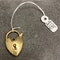 Charm puffy Heart in 9ct Gold date circa 1910, Lilly's Attic since 2001 - image 1