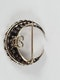 Antique crescent diamond with detachable fittings Sku 5079  DBGEMS - image 3