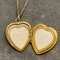 Locket in 9ct Gold dated London 1980, Lilly's Attic since 2001 - image 1