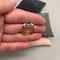 Sapphire Diamond Three Stone Ring in 18ct Yellow/White Gold dated London 1997, SHAPIRO & Co since1979 - image 5