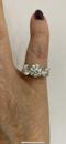 Platinum Diamond 3 stone ring, Estimated to be 4.50 cts @Finishing Touch - image 5
