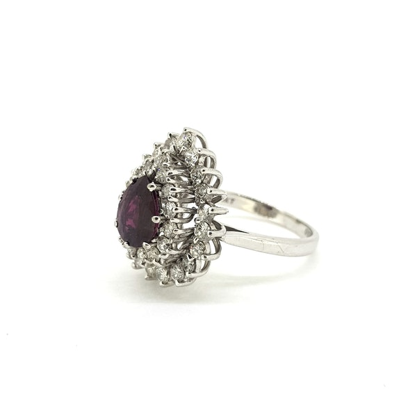 Thai Ruby and Diamond ring @Finishing Touch - image 4