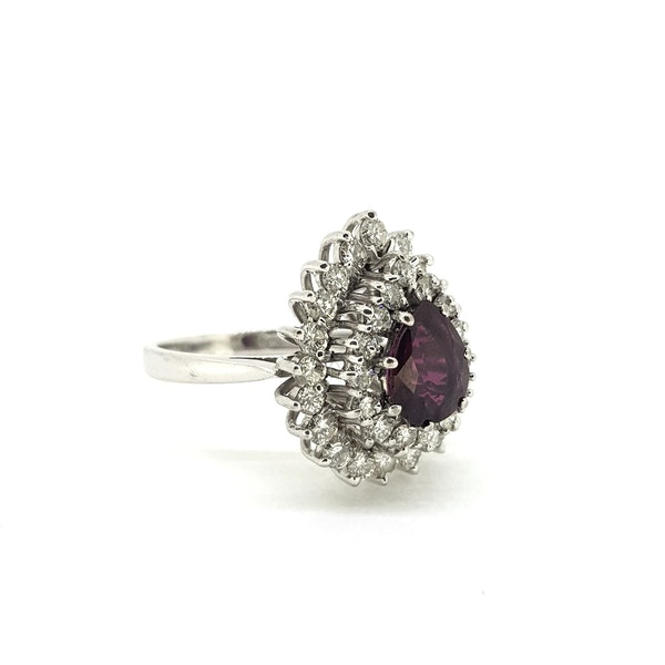 Thai Ruby and Diamond ring @Finishing Touch - image 2