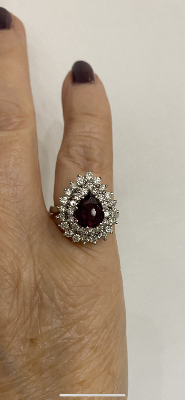 Thai Ruby and Diamond ring @Finishing Touch - image 5