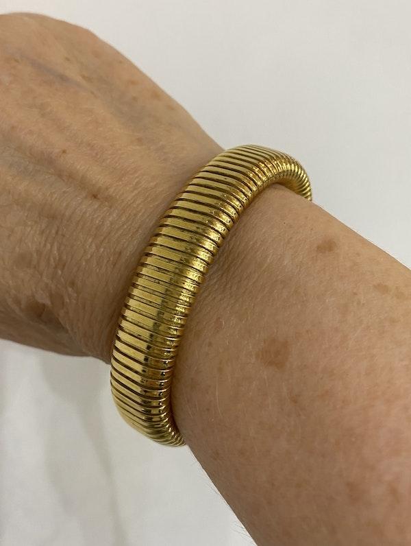 """Vintage Italian """"Turbo Gas Tube"""" bracelet @Finishing Touch - image 3"""
