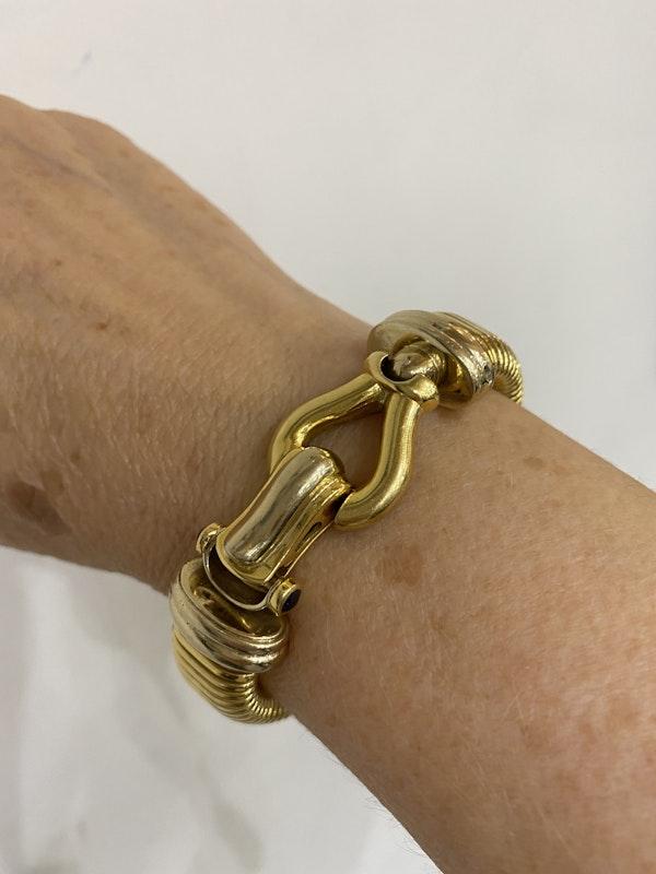 """Vintage Italian """"Turbo Gas Tube"""" bracelet @Finishing Touch - image 4"""
