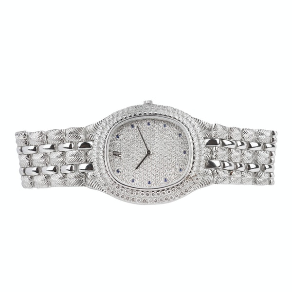 An Audemars Piguet Diamond Faced Dress Watch Offered By The Gilded Lily - image 2