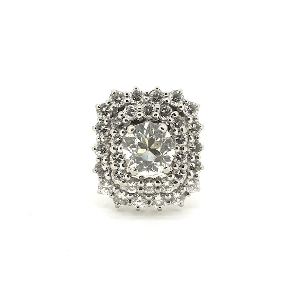 French Old Cut Diamond Dress ring @Finishing Touch - image 2