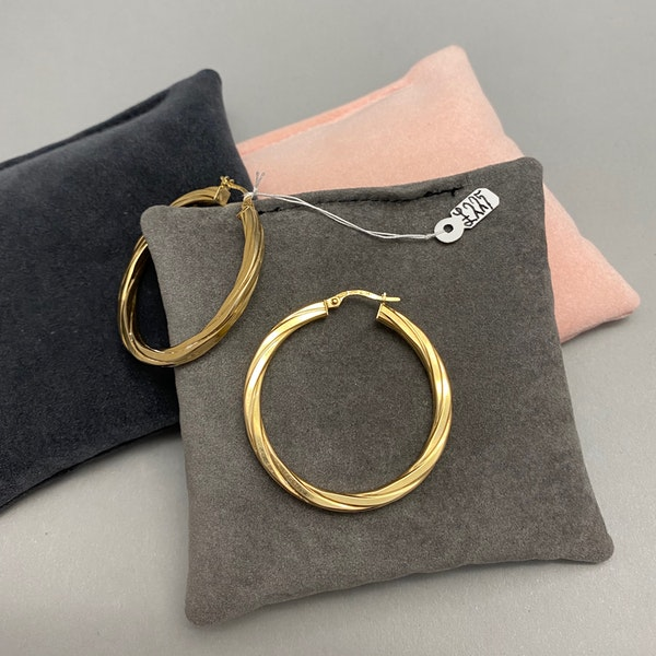 Hoop Earrings in 9ct Gold date circa 1990, Lilly's Attic since 2001 - image 3
