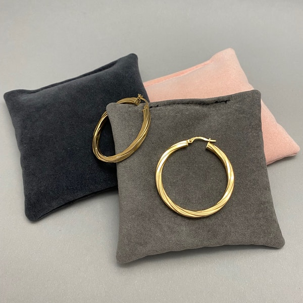 Hoop Earrings in 9ct Gold date circa 1990, Lilly's Attic since 2001 - image 5