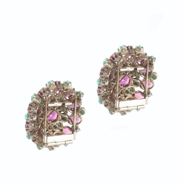 A pair of Dress Clips by Dorrie Nossiter - image 2