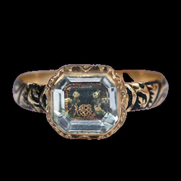 Stuart Crystal Ring - image 1