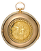 RARE EARLY VERGE POCKET WATCH WITH GARDEN OF EDEN AUTOMATION - image 1