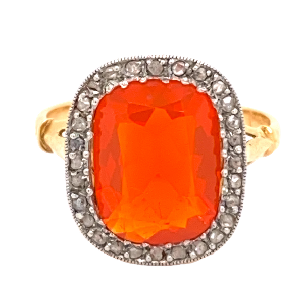 Fire Opal Ring - image 1