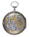 RARE STEEL CASED FRENCH VERGE POCKET WATCH - image 1