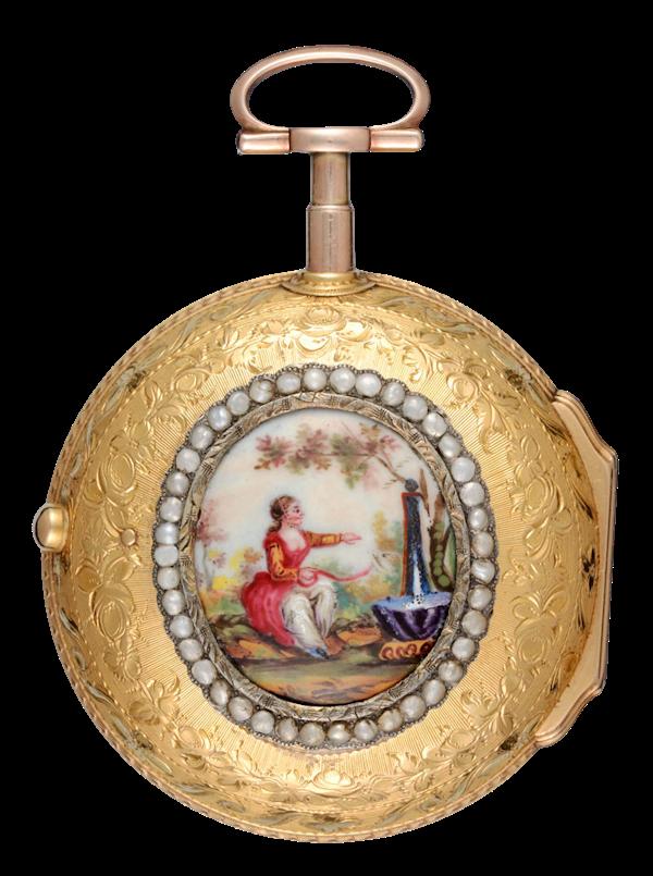 ENGLISH GOLD PAIR CASED VERGE - image 1
