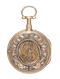 DECORATIVE GOLD FRENCH REPEATING POCKET WATCH - image 1