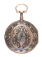 THREE COLOUR GOLD FRENCH VERGE POCKET WATCH - image 1
