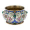 Russian Silver Gilt and Enamelled Faberge Salt by Feodor Ruckert, Moscow c.1890 - image 1