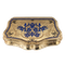 Continental gold, enamel case, Russian import marks c.1900 - image 1