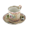 19th Century French Enamel and Silver Cup and Saucer, c.1850 - image 1