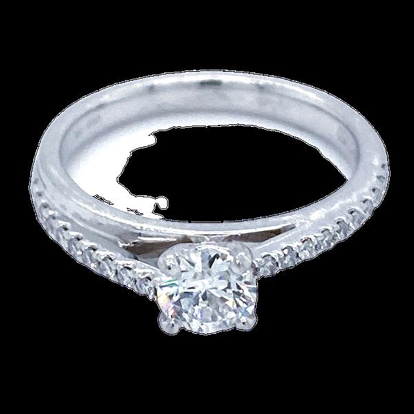 Diamond Engagement Ring - image 1