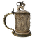 19th Century German Silver-Gilt and Ivory Tankard - image 1