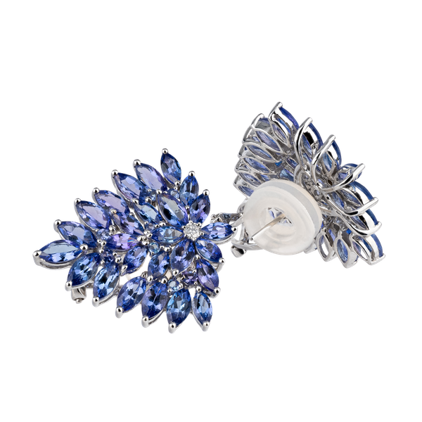 Earrings Tanzanite - image 1
