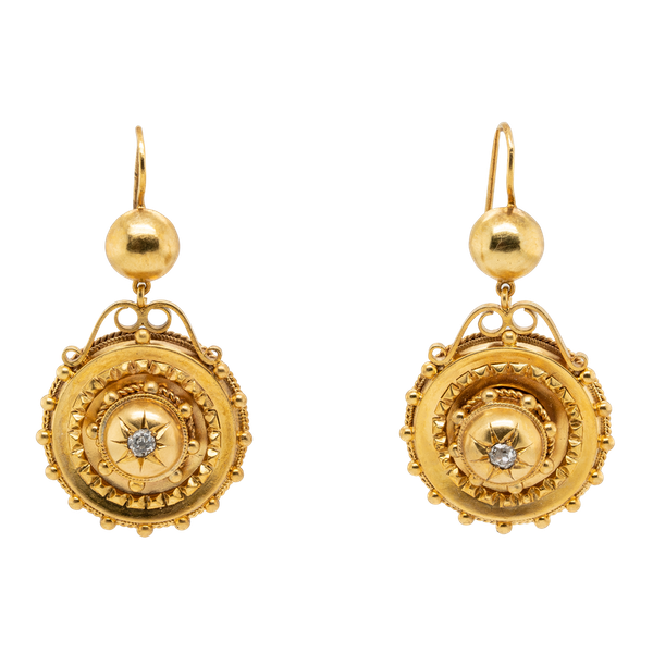 Etruscan Revival earrings - image 1