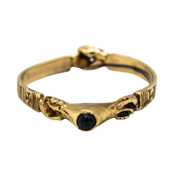 Sapphire 15th century fede ring - image 1