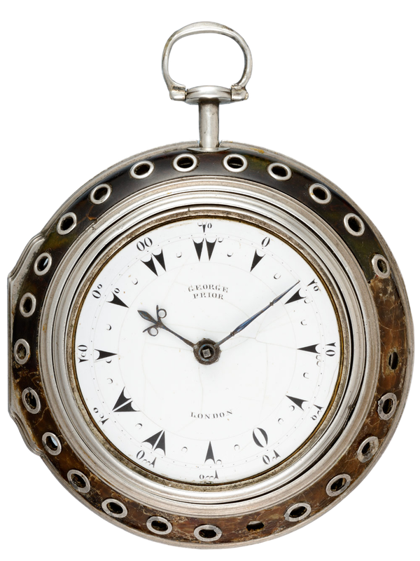 TURKISH MARKET QUARTER STRIKING CLOCKWATCH - image 1