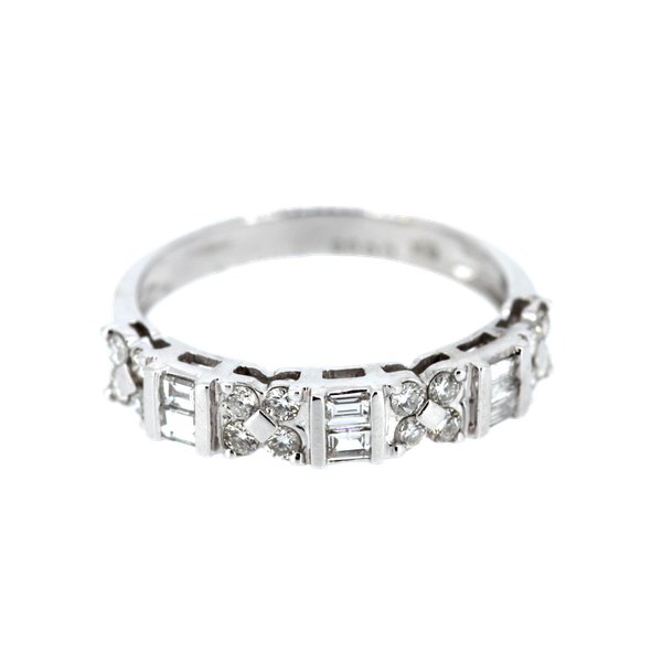 Fancy Diamond Eternity Ring. S.Greenstein - image 1