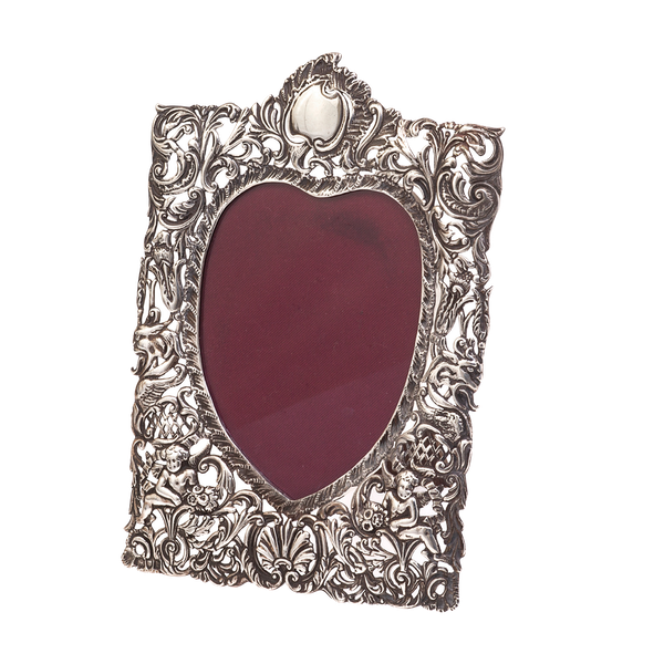 A Victorian Silver frame SOLD - image 1