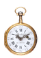 GOLD AND ENAMEL FRENCH VERGE POCKET WATCH - image 1
