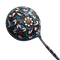 Moscow 1896-1907, Russian Silver Enamel Spoon, SHAPIRO & Co - image 1